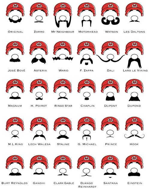 Des moustaches designs et créatives 9