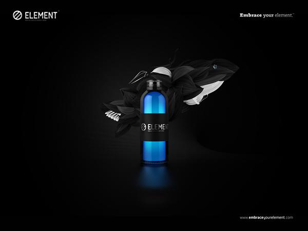 Element Energy Drink water
