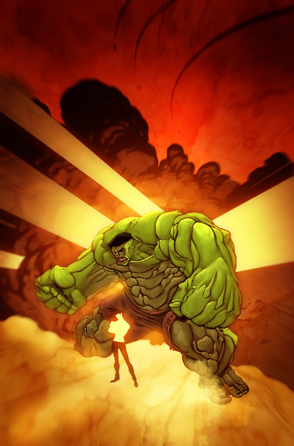 Hulk_and_the_baby_by_BoOoM