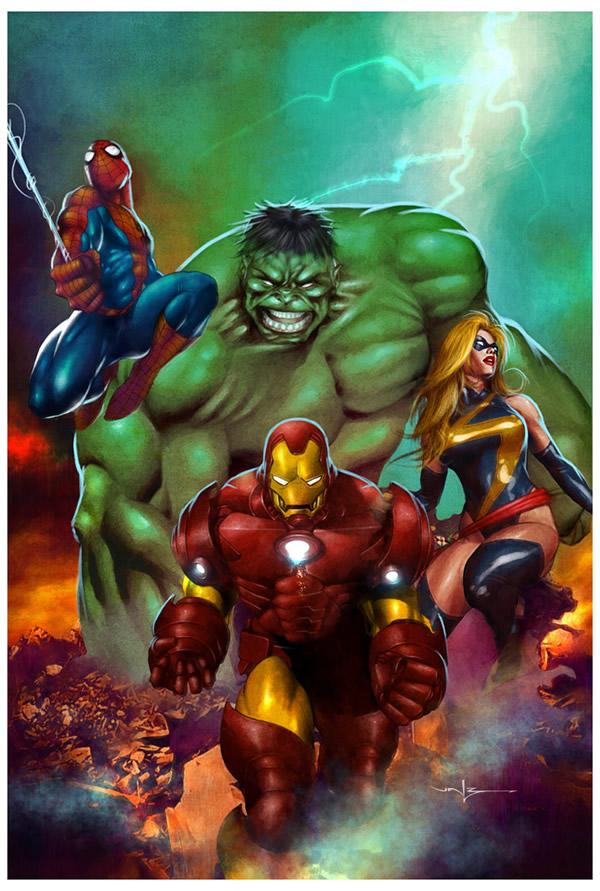 Marvel_Heroes_3_by_Valzonline