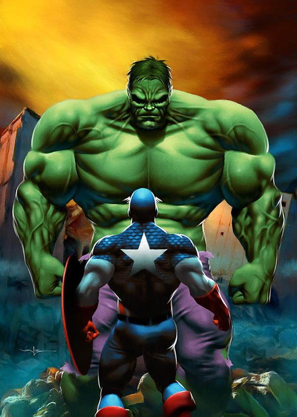 The_Hulk_by_Valzonline