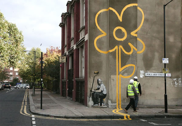 banksy-flower01