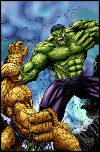 hulk_vs_thing_by_logicfun