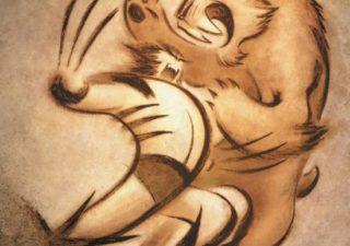 Marvel illustrations Wolverine 1