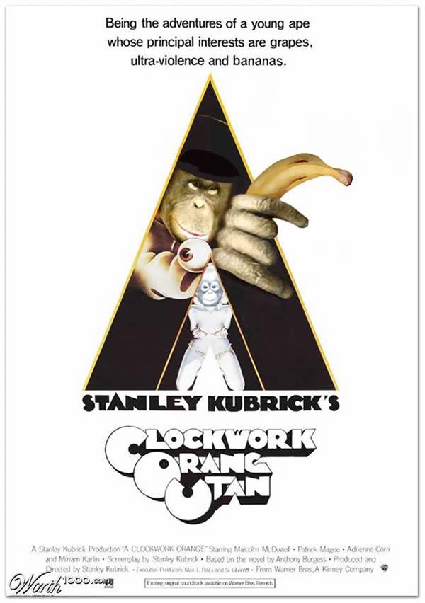 80 affiches de films d'animations détournées 80