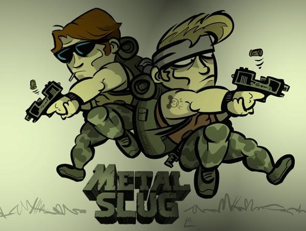 Les meilleurs FanArt Metal Slug 3
