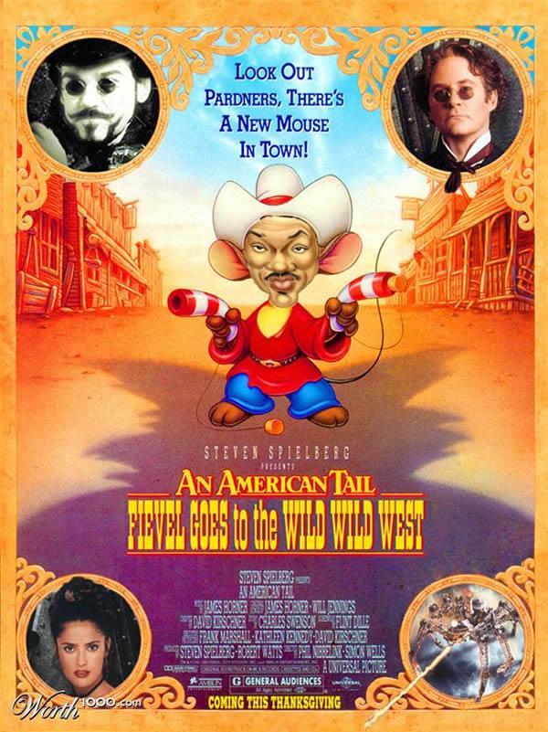 80 affiches de films d'animations détournées 57