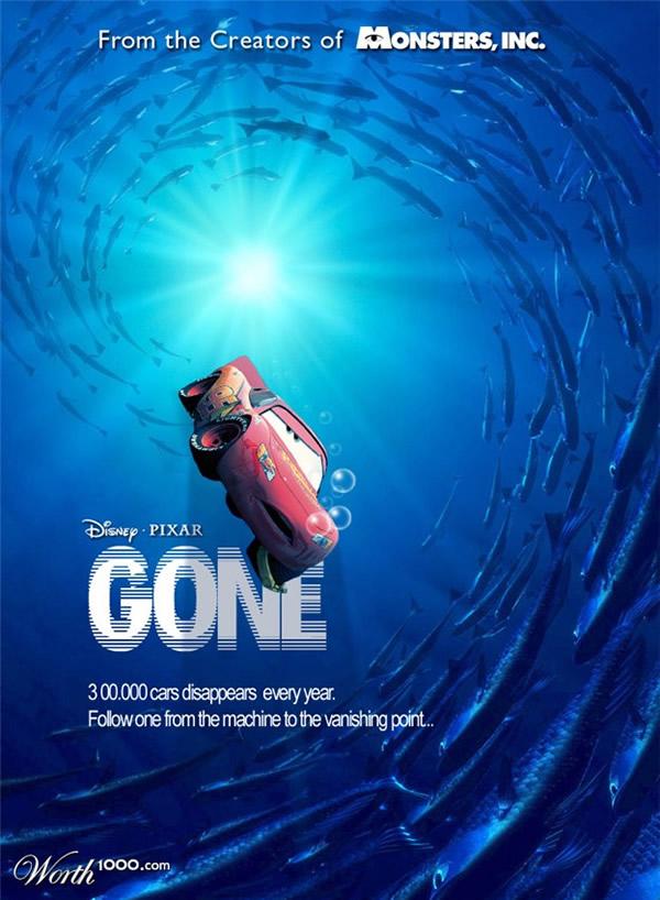 80 affiches de films d'animations détournées 51