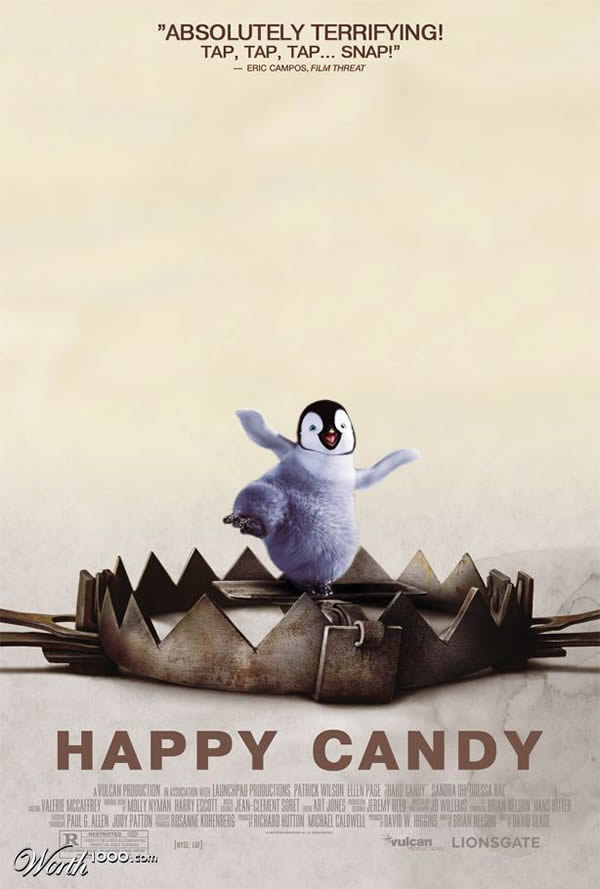 80 affiches de films d'animations détournées 49