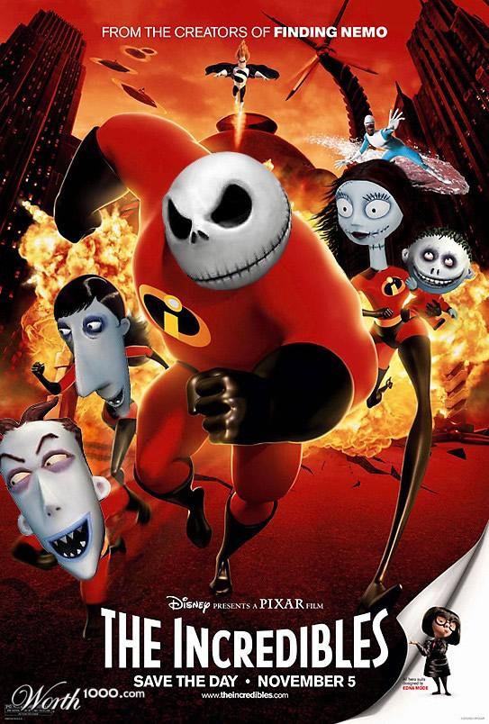 80 affiches de films d'animations détournées 44