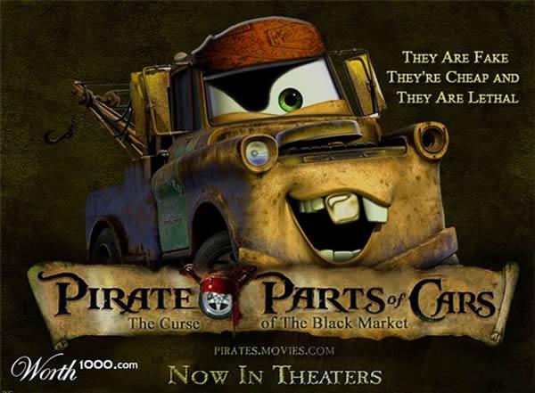 80 affiches de films d'animations détournées 27
