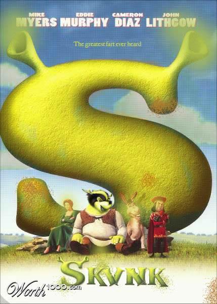 80 affiches de films d'animations détournées 18