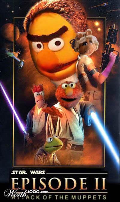 80 affiches de films d'animations détournées 16