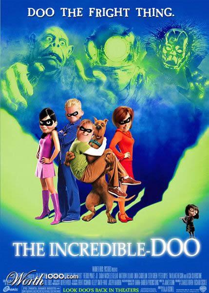 80 affiches de films d'animations détournées 13
