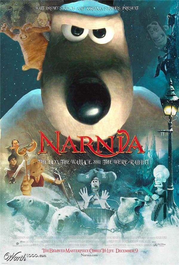 80 affiches de films d'animations détournées 11