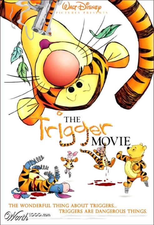 80 affiches de films d'animations détournées 5