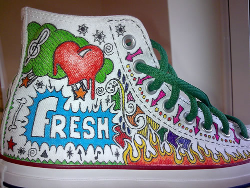 80 Customisés Converse De Best Design kXiuZOP
