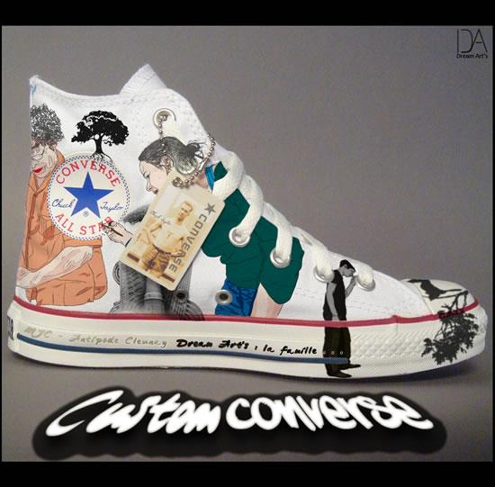 Best 80 design de Converse customisés 14