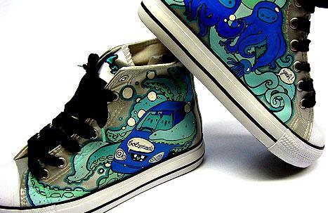 Best 80 design de Converse customisés 13