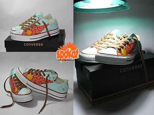 Best 80 design de Converse customisés #Olybop