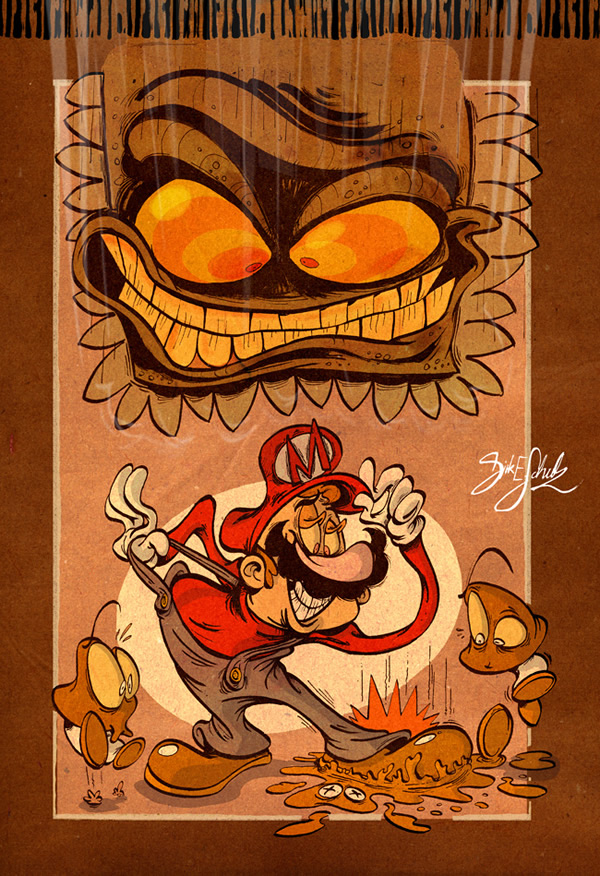FanArt Mario par Dirk Erik Schulz 2