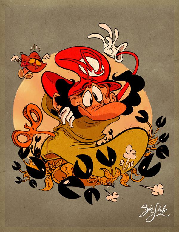 FanArt Mario par Dirk Erik Schulz 5