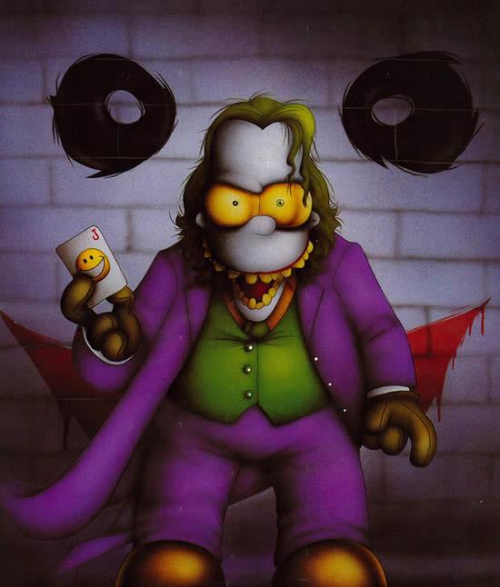 Les parodies avec les Simpsons 15