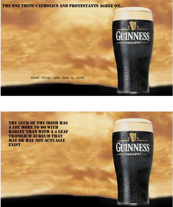 60 publicités Guinness pour la St Patrick 36