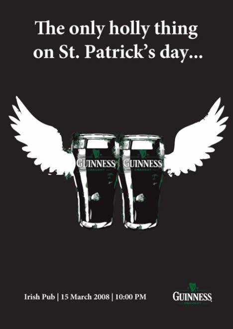60 publicités Guinness pour la St Patrick 16