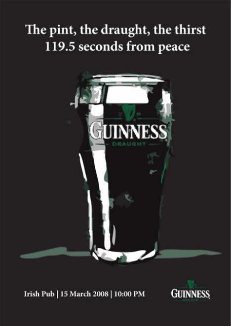 60 publicités Guinness pour la St Patrick 6