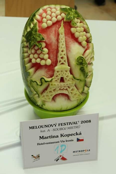 21 sculptures sur pastèque incroyables 16
