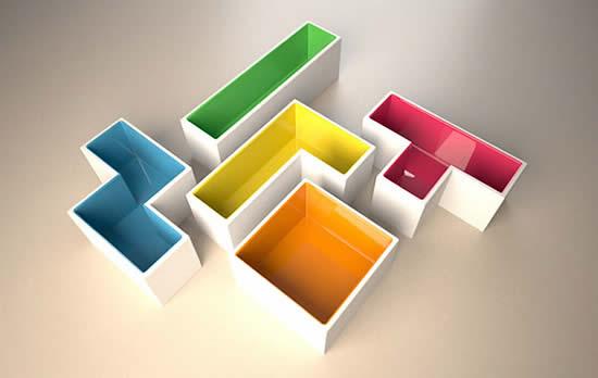 Quand Tetris devient 60 produits designs 31