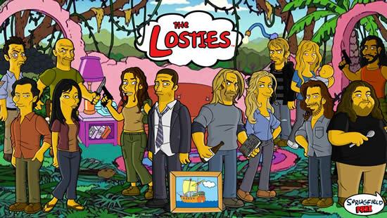 Les parodies avec les Simpsons 3