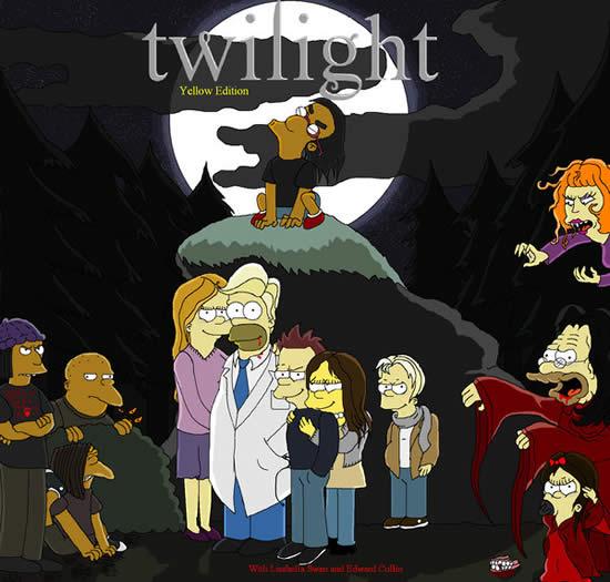 Les parodies avec les Simpsons 2