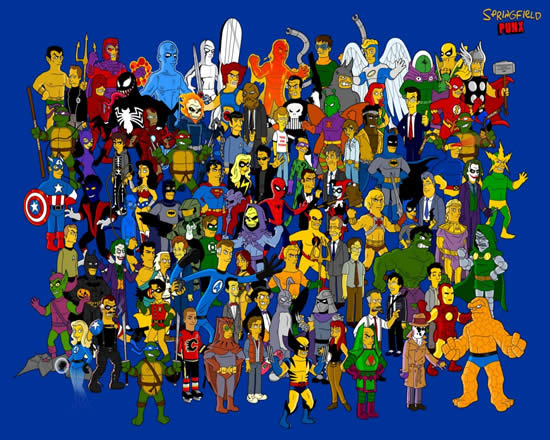 Les parodies avec les Simpsons 12
