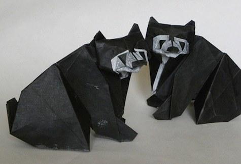 Les animaux en Origami de Dosis Diaria 9