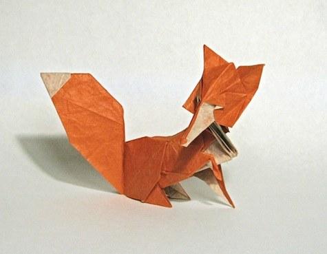 les animaux en origami de dosis diaria olybop. Black Bedroom Furniture Sets. Home Design Ideas