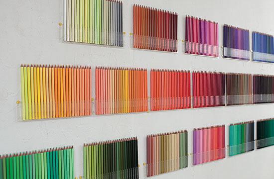 Créer votre mur de crayons de couleurs 6