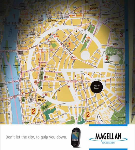 20 Publicités qui utilisent PacMan 9
