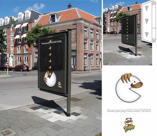 20 Publicités qui utilisent PacMan 5