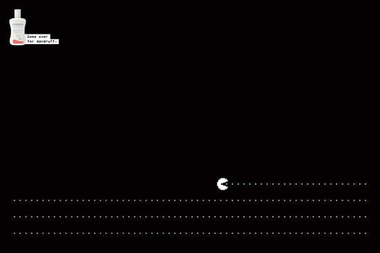 20 Publicités qui utilisent PacMan 2