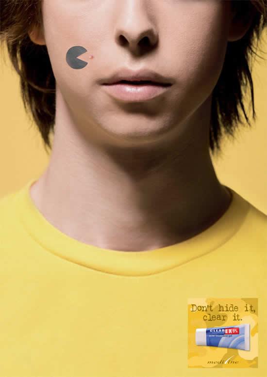 20 Publicités qui utilisent PacMan 18