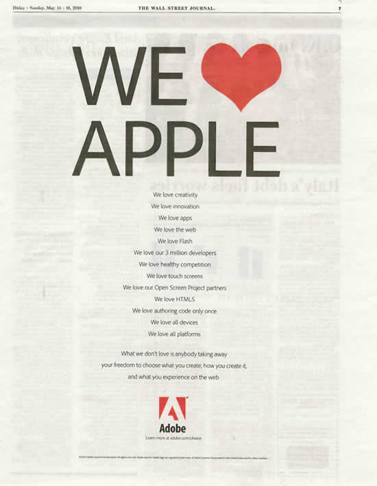 Adobe Love Apple 1
