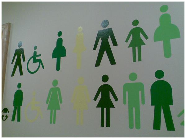 Les logos de WC à chier 10