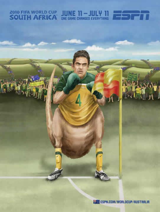 Les affiches ESPN pour la coupe du monde 2010 29