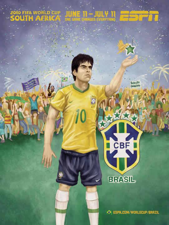 Les affiches ESPN pour la coupe du monde 2010 28