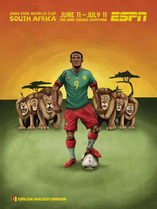 Les affiches ESPN pour la coupe du monde 2010 27