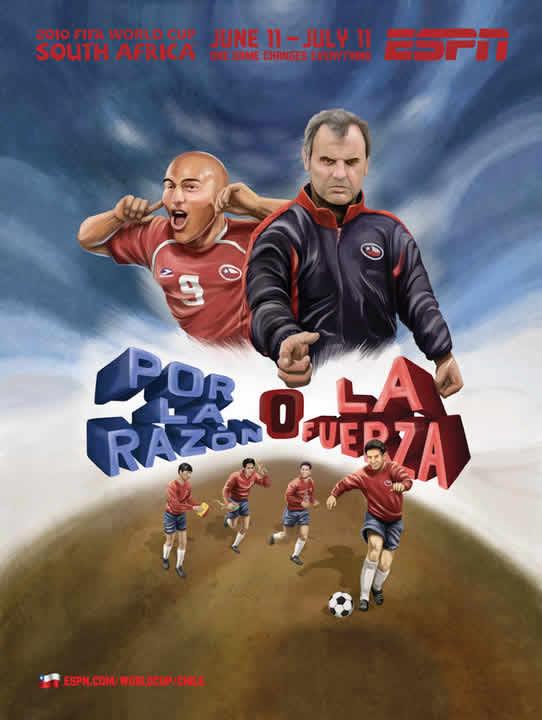 Les affiches ESPN pour la coupe du monde 2010 26