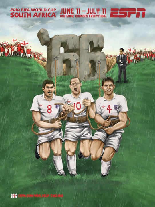 Les affiches ESPN pour la coupe du monde 2010 24