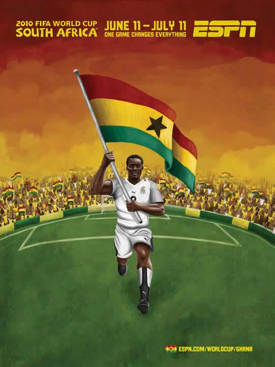 Les affiches ESPN pour la coupe du monde 2010 21